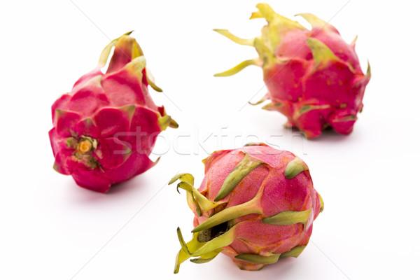 Three Whole Nanettika Fruits On White Stock photo © leowolfert