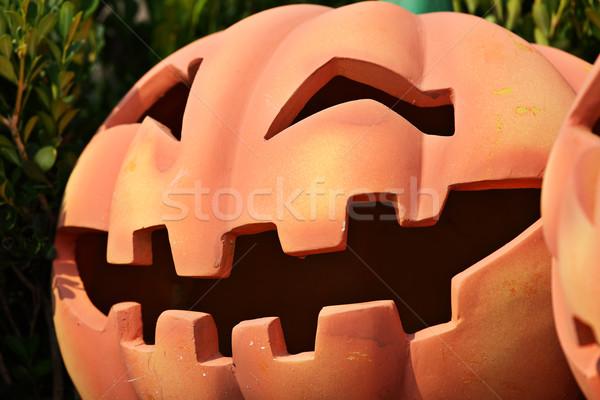 pumpkin face Stock photo © leungchopan