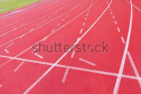 Stok fotoğraf: çalışma · izlemek · egzersiz · çalıştırmak · yarış · stadyum