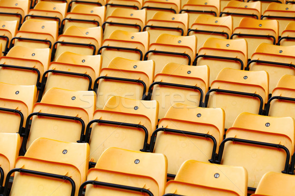 seats in stadium Stock photo © leungchopan