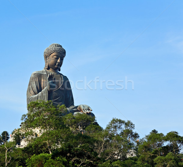Big Buddha in Hong Kong Stock photo © leungchopan