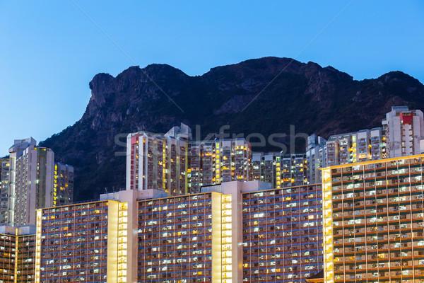 Kowloon residential area Stock photo © leungchopan