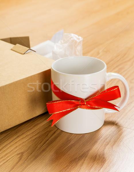 Worst gift, cup Stock photo © leungchopan