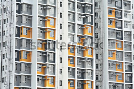 Hong Kong new public house Stock photo © leungchopan
