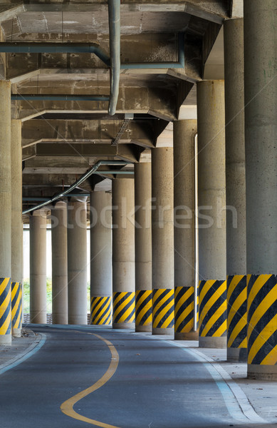 Under the viaduct Stock photo © leungchopan