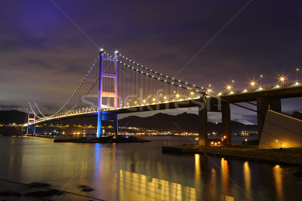 Tsing Ma Bridge Stock photo © leungchopan