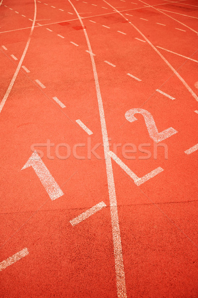start point of running track Stock photo © leungchopan
