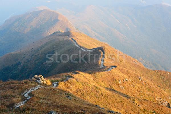 Stock photo: hiking path