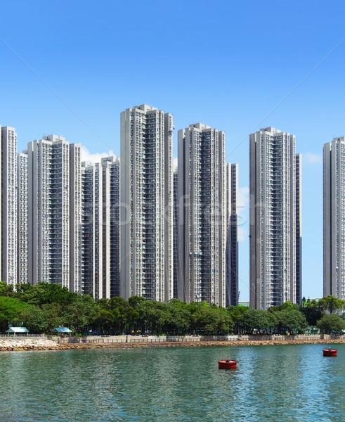 アパート 空 家 市 壁 海 ストックフォト © leungchopan