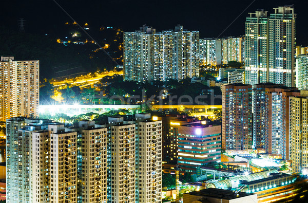 Housing apartment in Hong Kong Stock photo © leungchopan