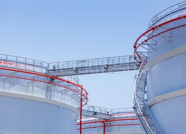 нефть хранения цистерна службе архитектура Сток-фото © leungchopan