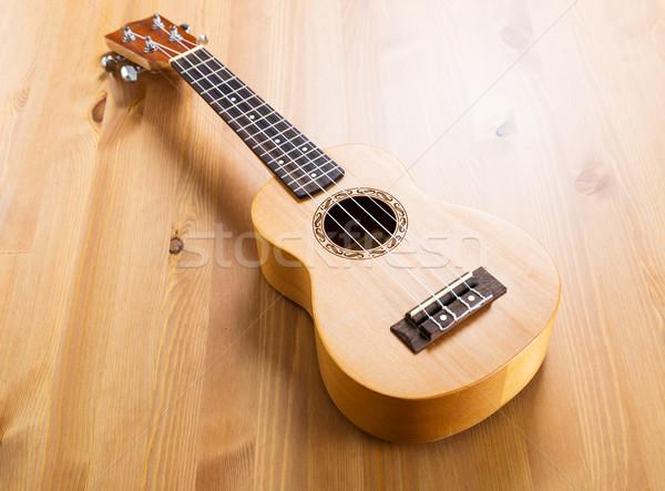 Vloer hout bamboe geluid land audio Stockfoto © leungchopan