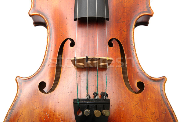 violin close up Stock photo © leungchopan