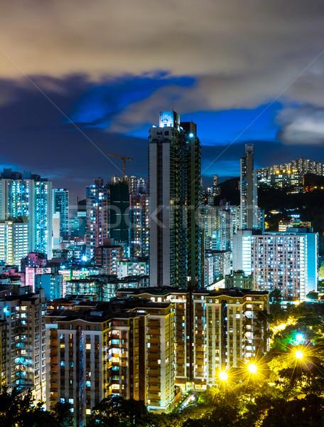Urban city landscape in Hong Kong Stock photo © leungchopan