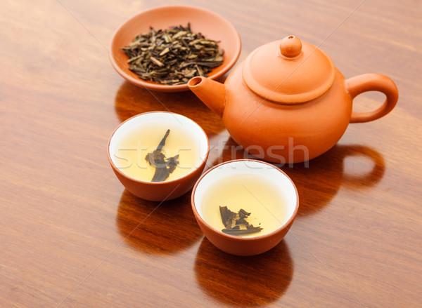 Traditional chinese tea Stock photo © leungchopan