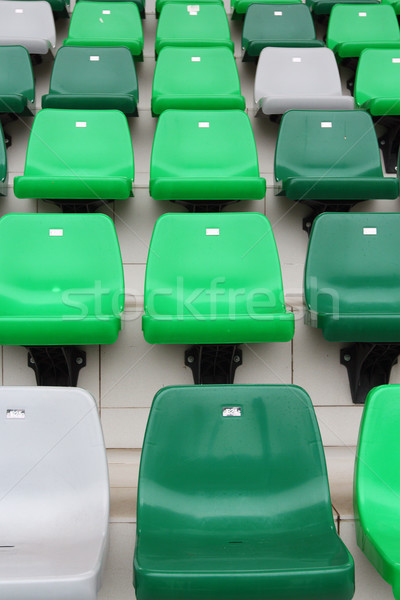 観客 座席 スタジアム スポーツ イベント 空っぽ ストックフォト © leungchopan