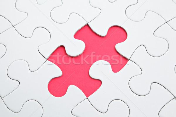 Сток-фото: головоломки · отсутствующий · кусок · плоскости · целевой · плана