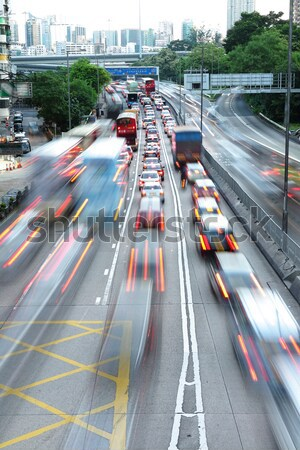 traffic jam Stock photo © leungchopan