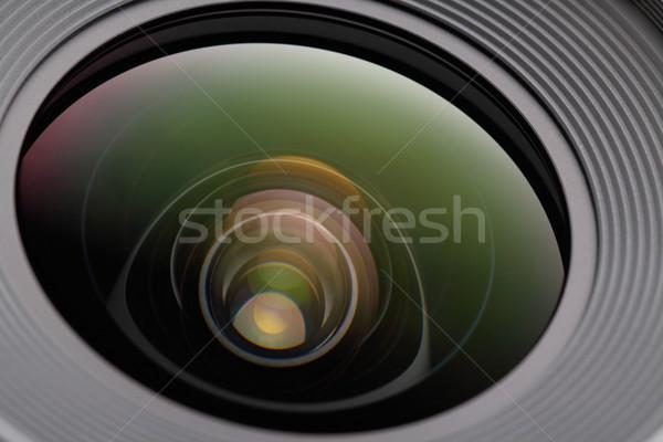 Dslr film luce vetro arte Foto d'archivio © leungchopan