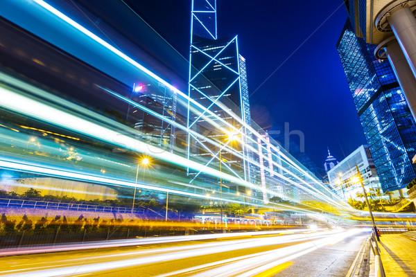 Traffic in Hong Kong Stock photo © leungchopan