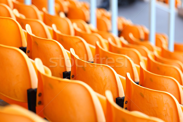 seats in stadium Stock photo © leungchopan