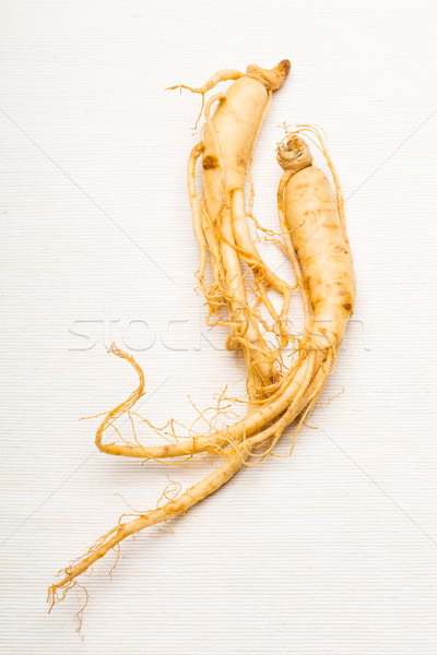 женьшень белый текстуры продовольствие здоровья медицина Сток-фото © leungchopan