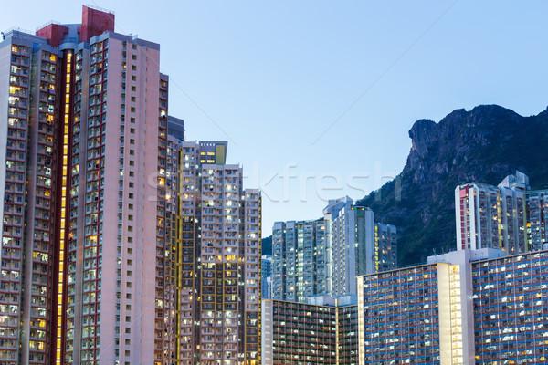 Kowloon residential building Stock photo © leungchopan