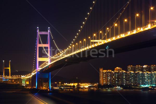 Tsing Ma bridge Stock photo © leungchopan
