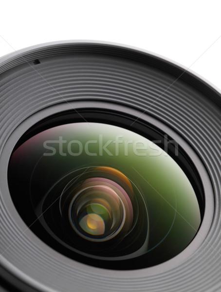 デジタル一眼レフ カメラレンズ ガラス 芸術 業界 映画 ストックフォト © leungchopan