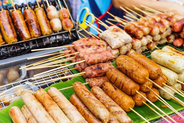 Thailand street food Stock photo © leungchopan