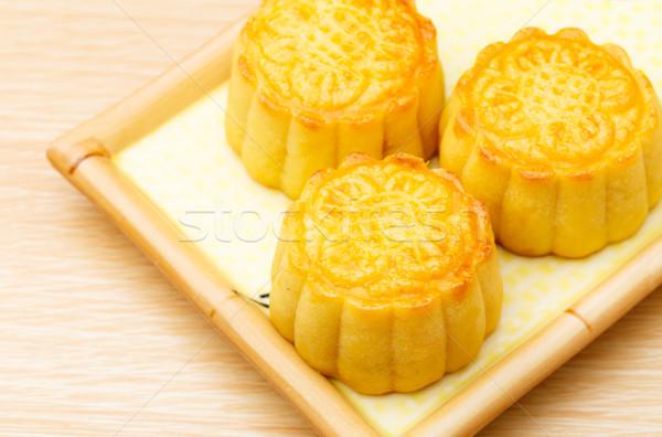 Chinese traditional mooncake Stock photo © leungchopan