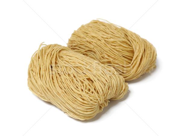 chinese noodle, raw Stock photo © leungchopan