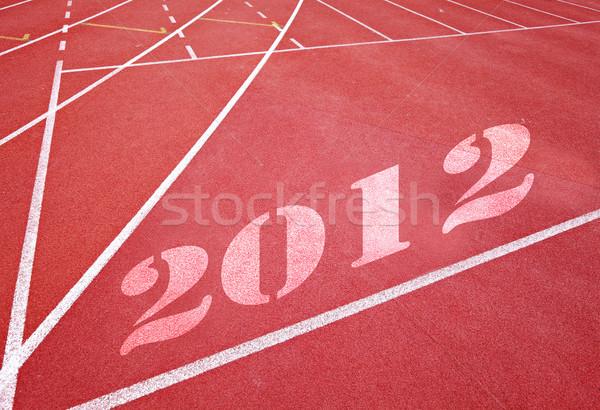 Foto stock: Inicio · 2012 · deporte · ejercicio · ejecutar · carrera