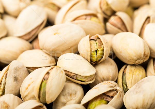 Pistache alimentaire fond été groupe Photo stock © leungchopan