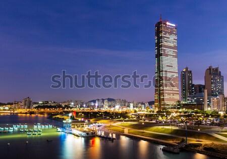 Seoul city in South of Korea Stock photo © leungchopan