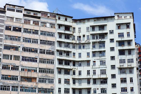 Stock photo: Abandoned building in Hong Kong