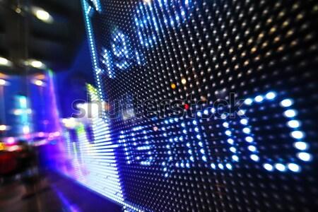 Stock foto: Aktienmarkt · Preis · Drop · Display · Bildschirm · Finanzierung