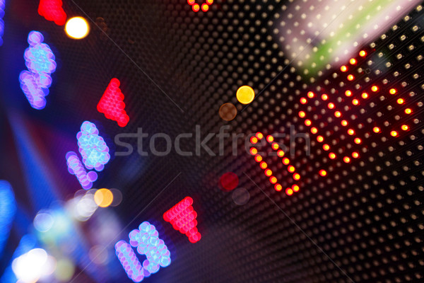 stock market pricing abstract Stock photo © leungchopan