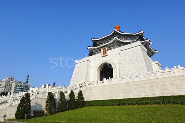 Chiang kai-shek memorial hall in taiwan Stock photo © leungchopan