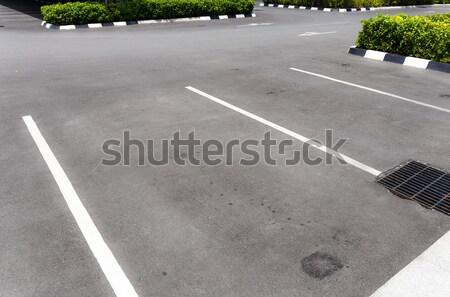 Empty car park Stock photo © leungchopan