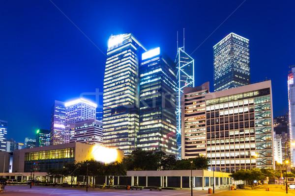 Hong Kong corporate building Stock photo © leungchopan