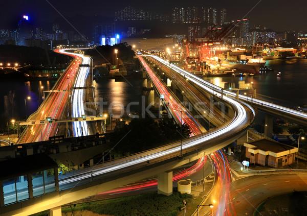 Foto stock: Carga · carreteras · Hong · Kong · China · dinero · edificio