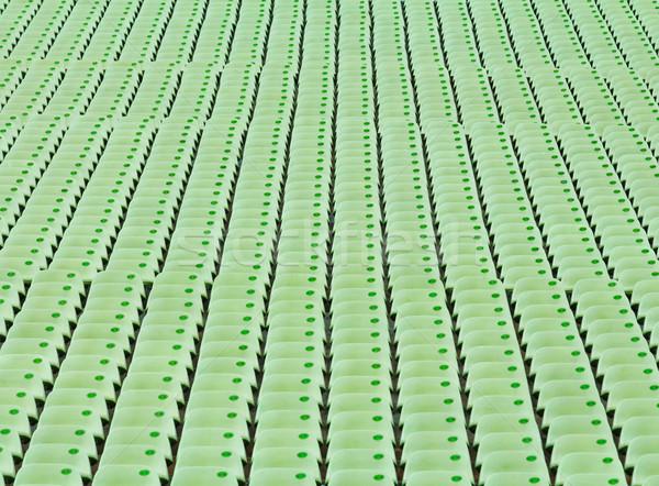 Audience seat in stadium Stock photo © leungchopan