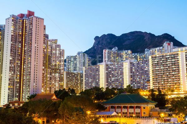 Kowloon residential building Stock photo © leungchopan