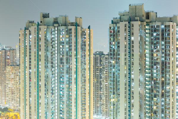 Exterior of building Stock photo © leungchopan