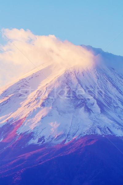 Mt. Fuji close up Stock photo © leungchopan