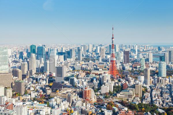 Tokyo city Stock photo © leungchopan