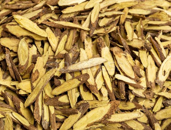 Dry burdock root  Stock photo © leungchopan