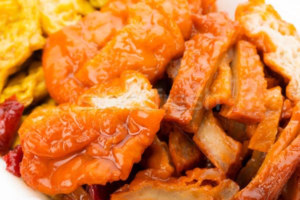Foto d'archivio: Cinese · stile · cibo · vegetariano · pranzo · pasto