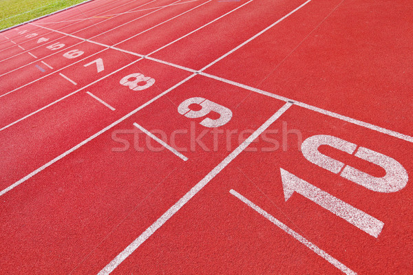 Running track Stock photo © leungchopan
